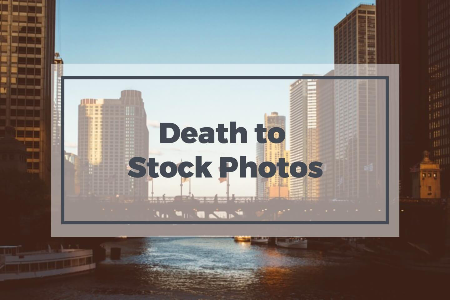 death-to-stock-photos