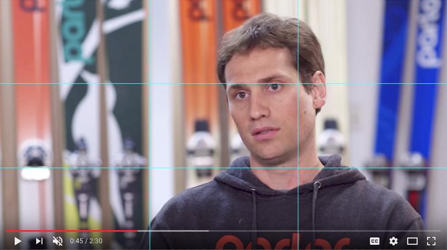 视频拍摄三分构图法